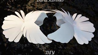 DIY Красивый голубь из бумаги. Мастер класс \ Pigeon Paper