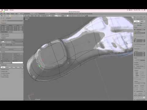 Shoe Design Part 1 : Basic Shapes