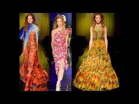 Летнее платье в цветочек – модели 2017 года