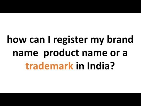 How can I register trademark in India? steps procedure and cost for trademark registration