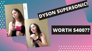 DYSON SUPERSONIC HAIR DRYER REVIEW AND FIRST IMPRESSION (IS IT WORTH IT?)