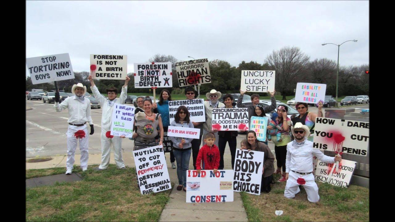 Protest mot bro