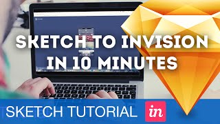 Sketch to InVision Prototype in 10 Minutes • Sketchapp Tutorial & Design Process Workflow