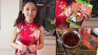 Chili oil chili sauce red oil authentic Sichuan/ Szechuan food recipe #1 四川辣红油