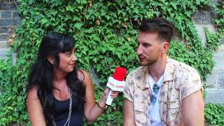Russell Dickerson talks tour with Lady Antebellum, Blue Tacoma and plays The Newly Friend Game Video