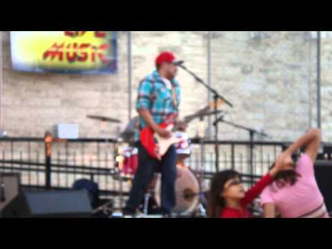 Chris Castaneda Project plays Music on Main in Round Rock, Texas.