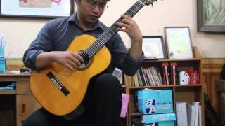 Sarabande (suitar A minor) - Ponce. Guitar: Vũ Hiển