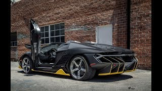 live   unboxing the worlds first lamborghini centenario roadster in the usa