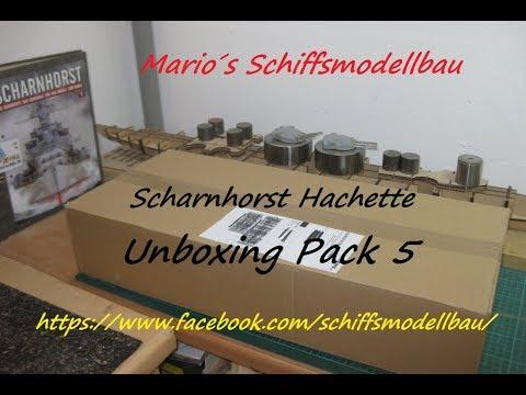 Unboxing Pack 5 Scharnhorst