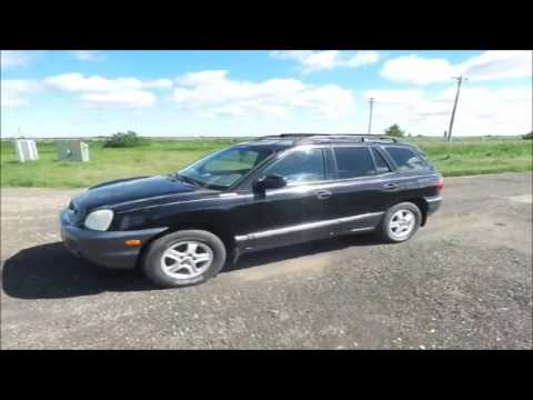 2002 Hyundai Santa Fe SUV for sale   no-reserve Internet auction July 20, 2016