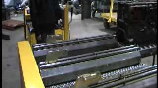 """Industrial Transfer Cart, Quad Steer Cart, """"Heavy Duty Transfer Cart"""" pulled by tugger"""