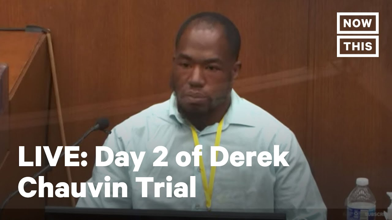 Day 2 of Derek Chauvin Trial for George Floyd's Murder | LIVE