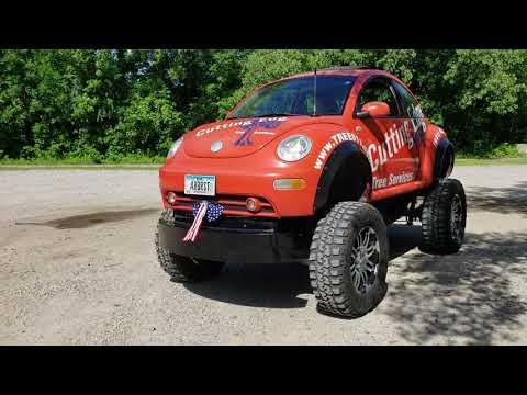 Volkswagen beetle lifted with LS swap