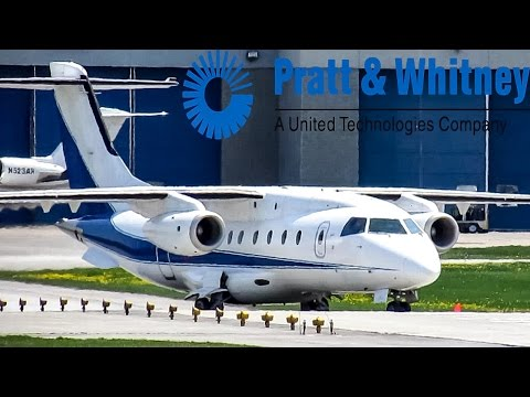 Pratt & Whitney Canada Donier 328JET (J328) departing YUL on 24L