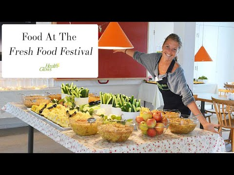 Food At The Fresh Food Festival 2016