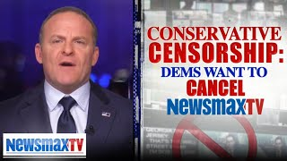Democrats want to see Newsmax CANCELED | Grant Stinchfield