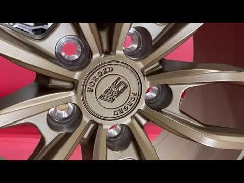 Кованые диски ford mustang R19 разноширокие