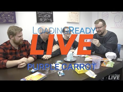 LoadingReadyLIVE Ep21 – Purple Carrot