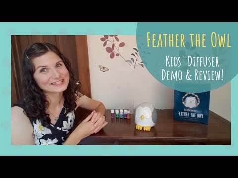 feather-the-owl-diffuser-demo-&-review!