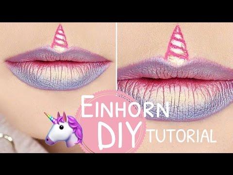 EINHORN DIY Lippen