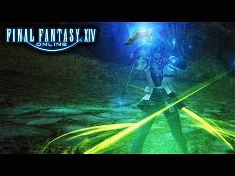 Final tasy XIV A Realm Reborn  FFXIV Conjurer Leveling Livestream Footage