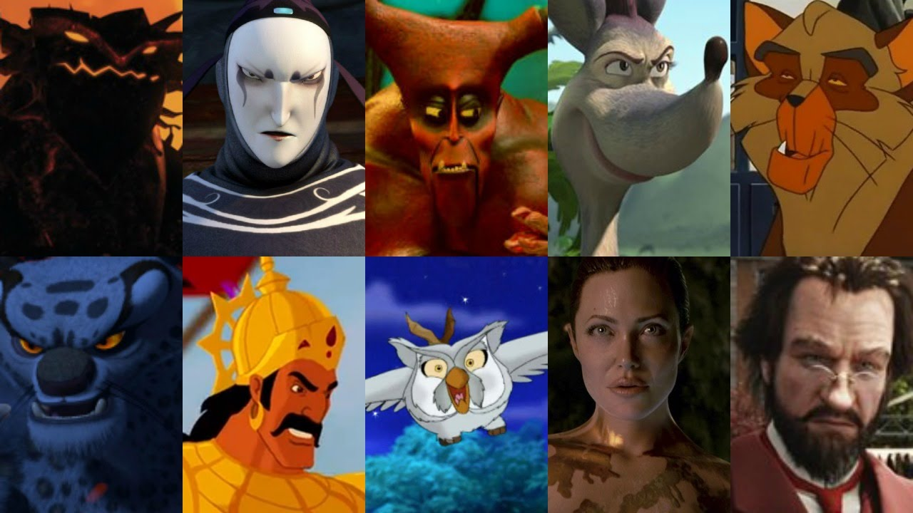 Defeats of my Favorite Animated Non-Disney Movie Villains Part XIV