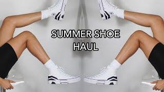 SUMMER SHOE HAUL || NIKE, CONV…