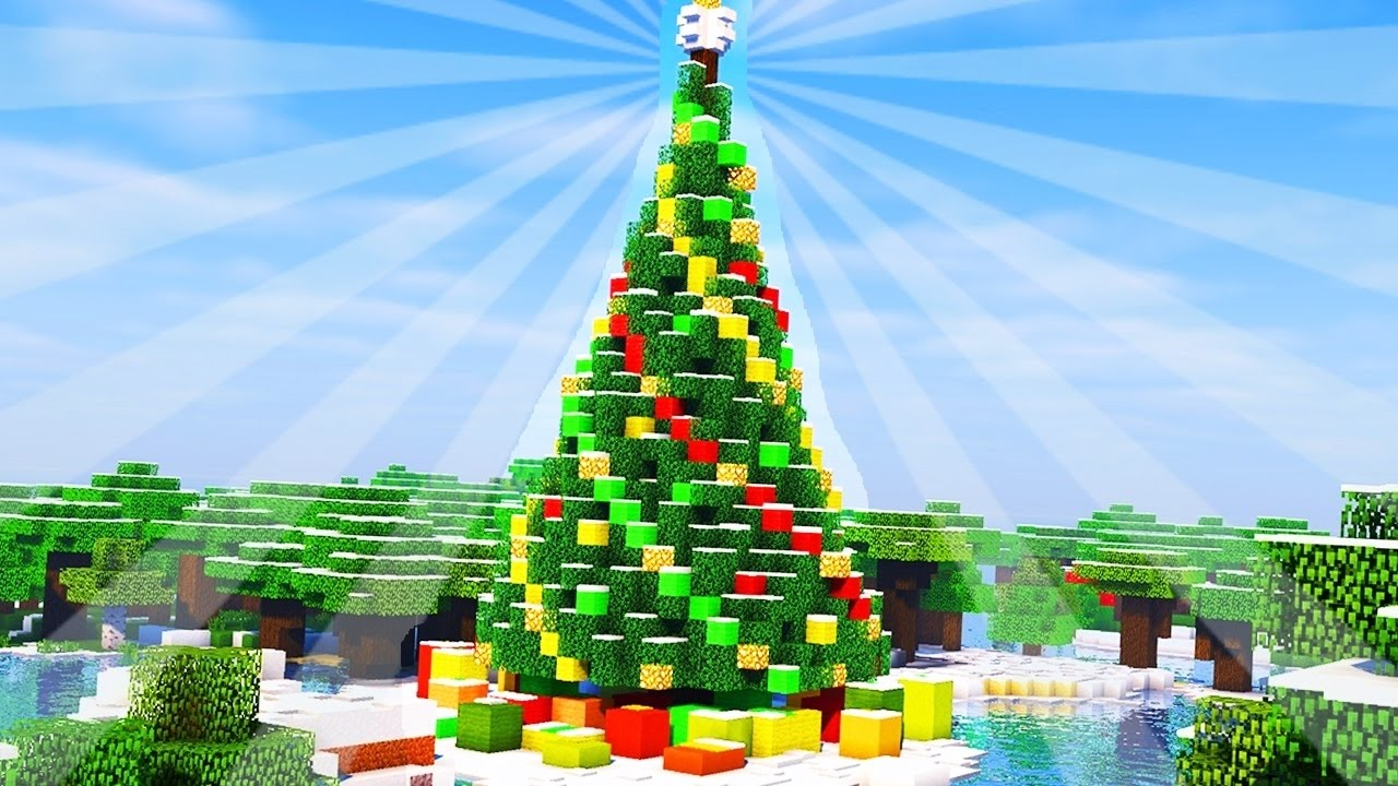Image result for minecraft christmas build""
