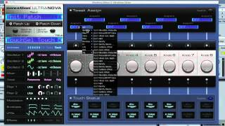 Novation UltraNova Hardware Synth Editor - Feature Review User Guide