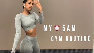 MY 5AM GYM MORNING ROUTINE | GET MOTIVATED!