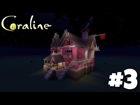 Building Coraline S House Pink Palace Apartments 3 Mr Bobinsky S Door Minecraft Ps4 Youtube