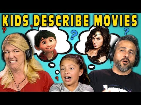 CAN PARENTS GUESS MOVIES DESCRIBED BY KIDS? #2 (React)