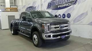 2018 Ford F-450 SuperDuty Lariat DRW W/ Leather, Sunroof, Diesel, 4WD Overview | Boundary Ford