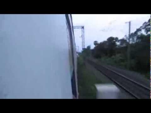 Speeding Throrugh Mankundu And Bruttaly Thrashing Bally-Bandel EMU : Onboard HWH-BWN Fast EMU