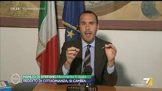Quota 100, Manlio Di Stefano: