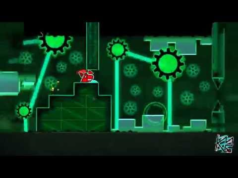 Geometry Dash - Particle accelerator by ancientanubis (Demon) Complete + 3 Coins (Live)