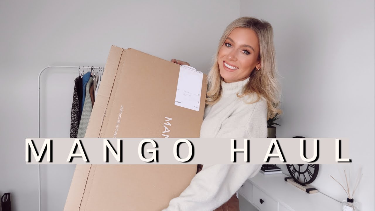 HUGE MANGO TRY ON HAUL OCTOBER 2020! | Charlotte Beer