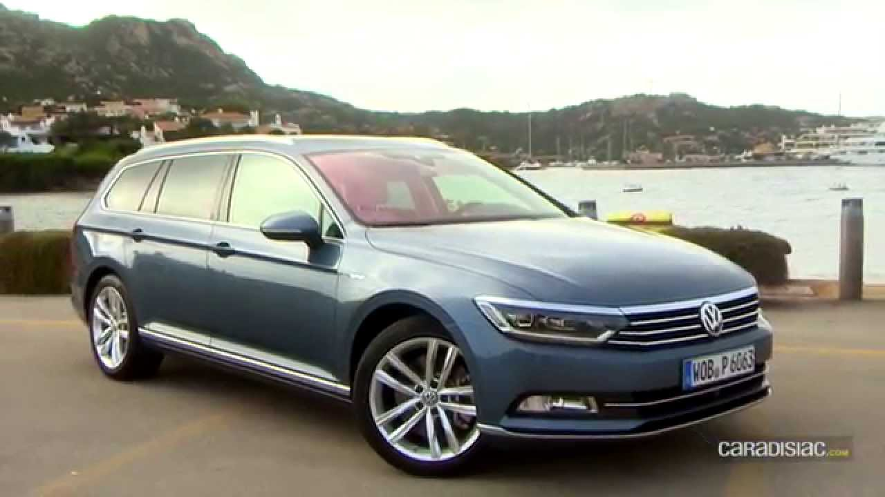 essai volkswagen passat 8 sw youtube. Black Bedroom Furniture Sets. Home Design Ideas