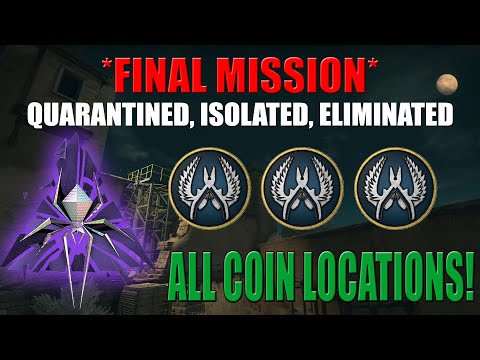 *NEW* LAST MISSION ALL COIN LOCATIONS PLUS HARD MODE | CSGO SHATTERED WEB FINAL MISSION |