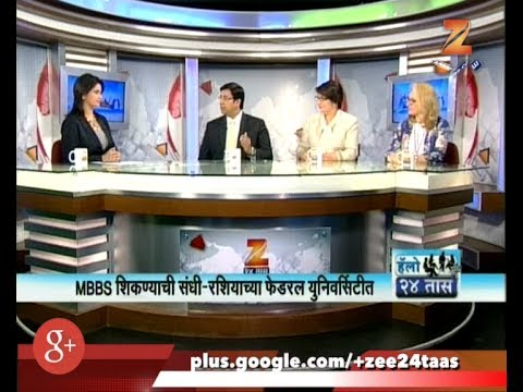 Hello 24 Taas | MBBS In Russia Federal University | 2nd June 2017