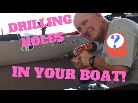 THERE ARE HOLES IN YOUR BOAT!