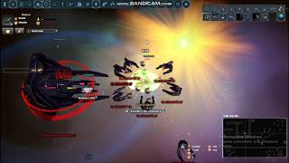 DarkOrbit - Mindfire Behemoth VS Mimesis [Black light update] [Last Mimesis video]
