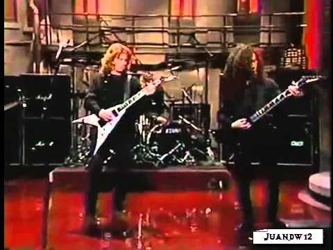 Megadeth - Train of Consequences (Live '94) SUB ESP