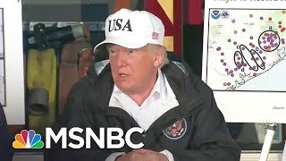 Donald Trump Visits Texas But Fails To Address The Victims Of Harvey | The 11th Hour | MSNBC