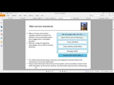 C19 - Part 1 –( Service-oriented Architecture) -( Software Engineering)