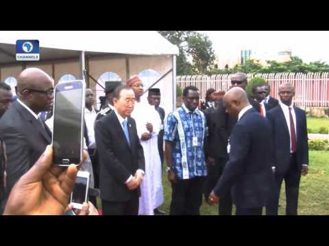 Diplomatic Channel:  Review Of UN Secretary General's Visit To Nigeria -- 31/08/15 Pt 1