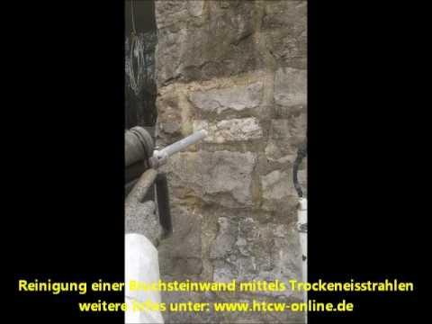 Bruchsteinwand Sanieren reinigung einer bruchsteinwand mittels trockeneis