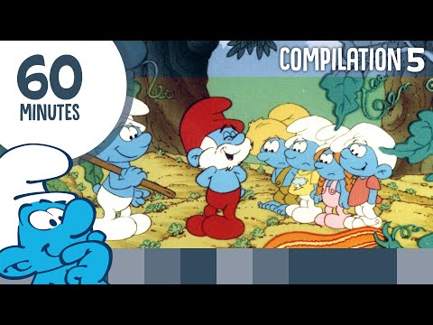 60 Minutes Of Smurfs • Compilation 5 • The Smurfs