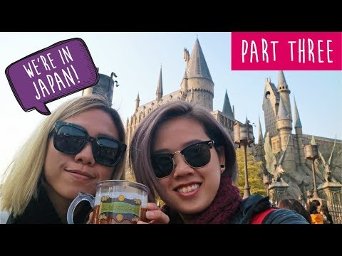 Japan - Osaka (Osaka crab, Harry Potter World & Cup Noodle Museum)