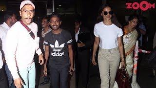 Ranveer's Quirky Sweatshirt Look   Deepika's Go Casual Avatar   Style Today